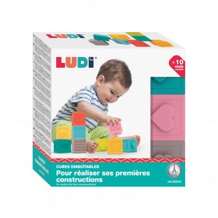 Conjunto 9 cubos apilables