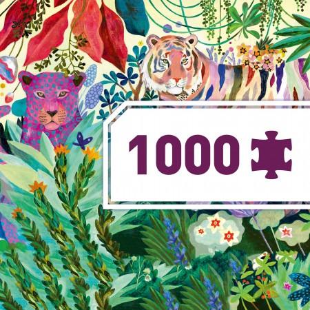 Puzzle Galería Rainbow Tigers